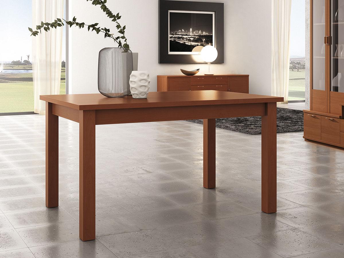 Mueble mesa centro comedor madera melamina moderno for Muebles comedor madera