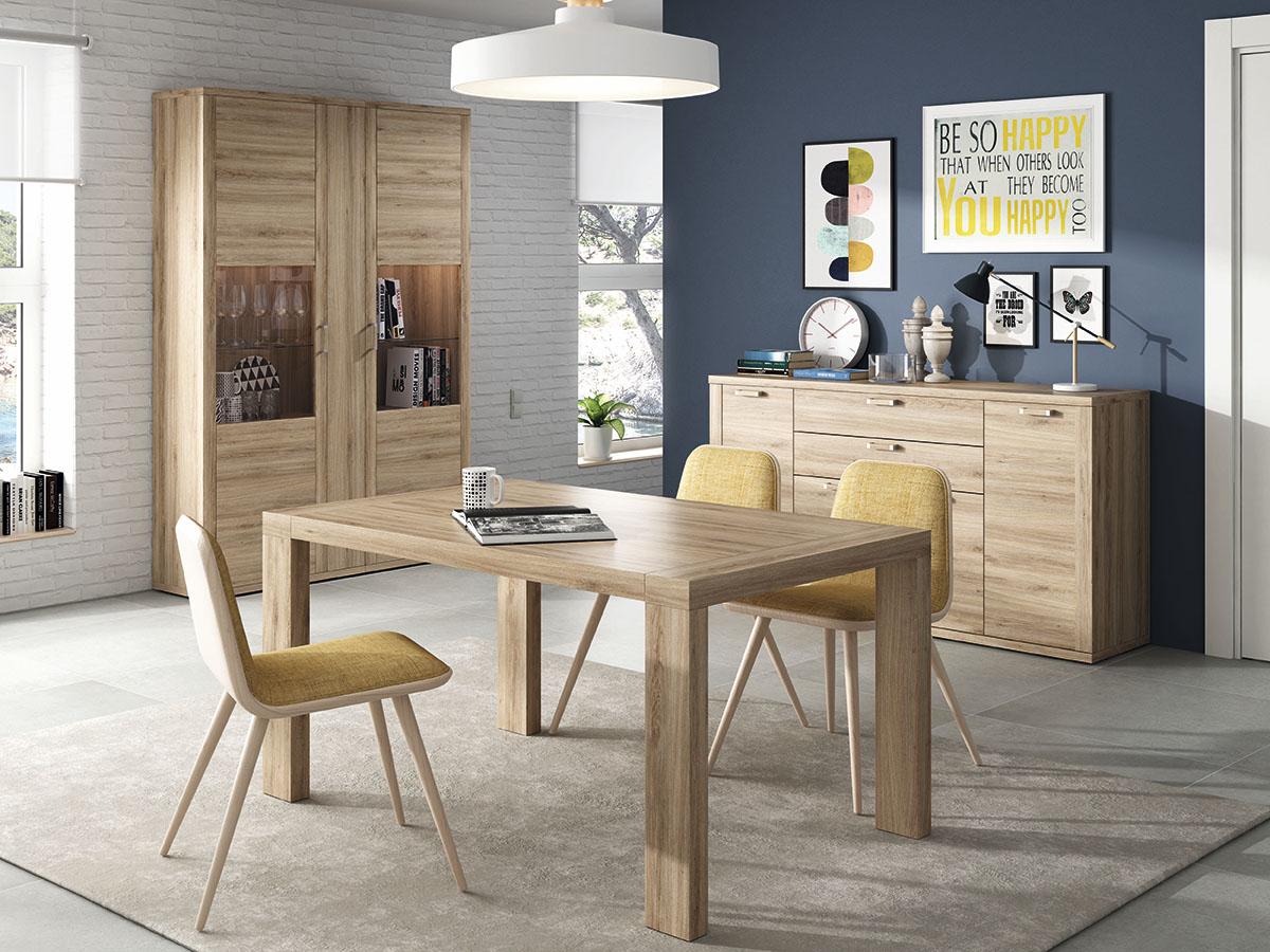 mueble-salon-comedor-vitrina-aparador-mesa-madera-melamina-moderno ...