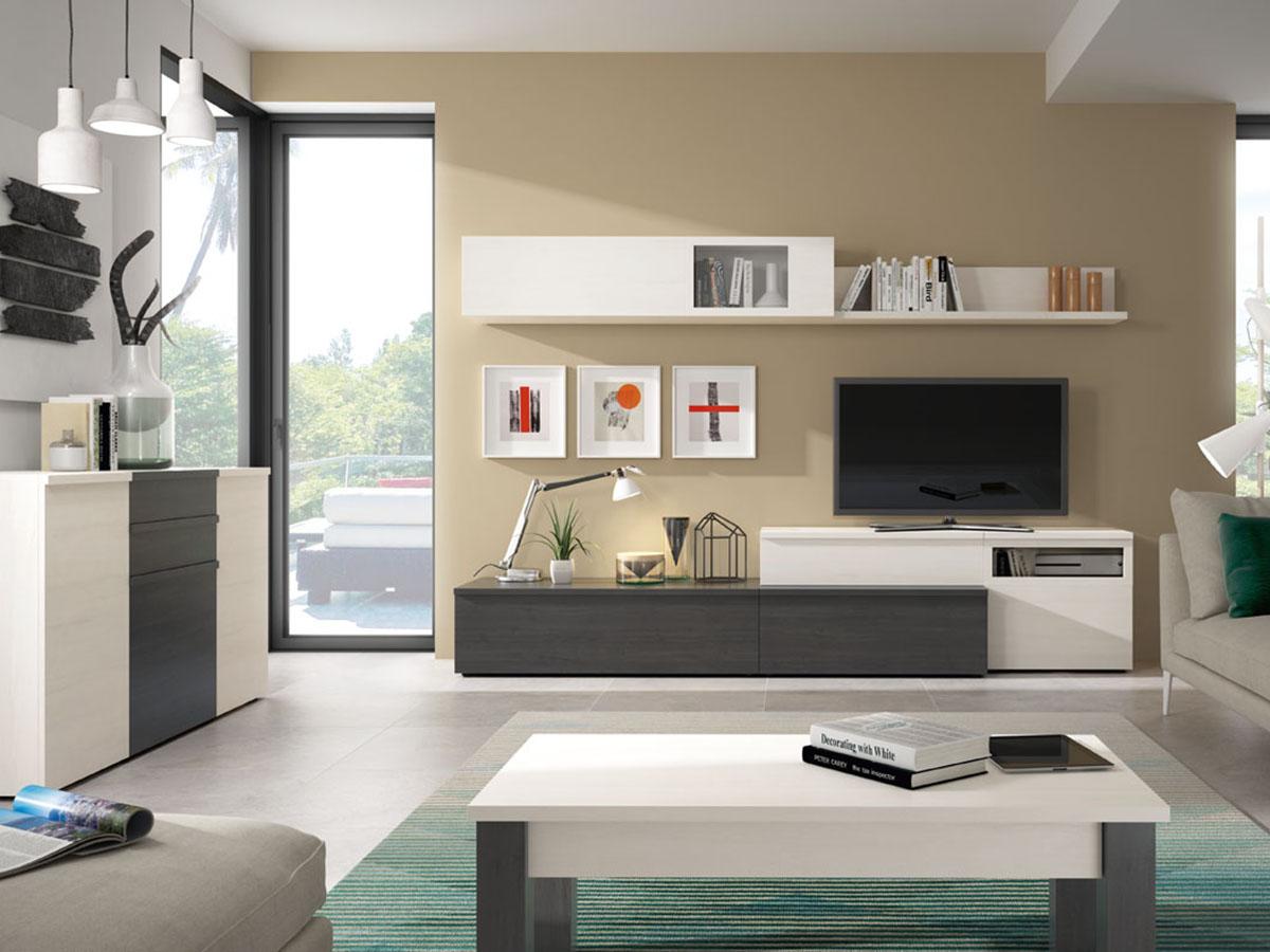 mueble-salon-tv-comedor-aparador-mesa-madera-melamina-moderno ...