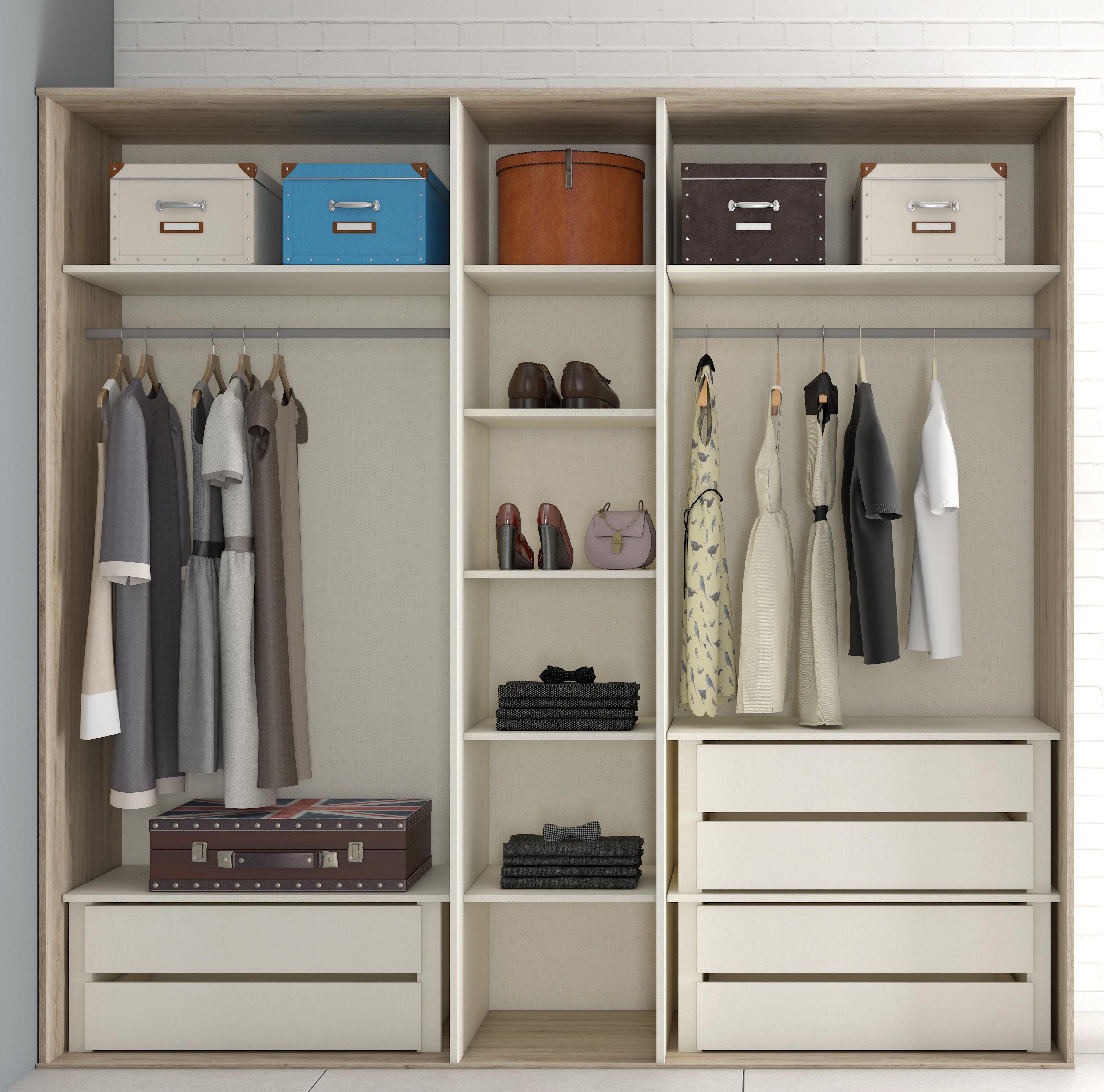 mueble-dormitorio-armario-madera-melamina-moderno-economico-roble ...