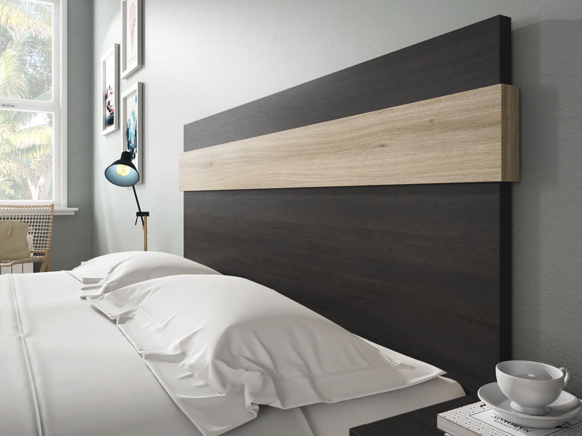 Hermosa Roble Cama Muebles Componente - Muebles Para Ideas de Diseño ...