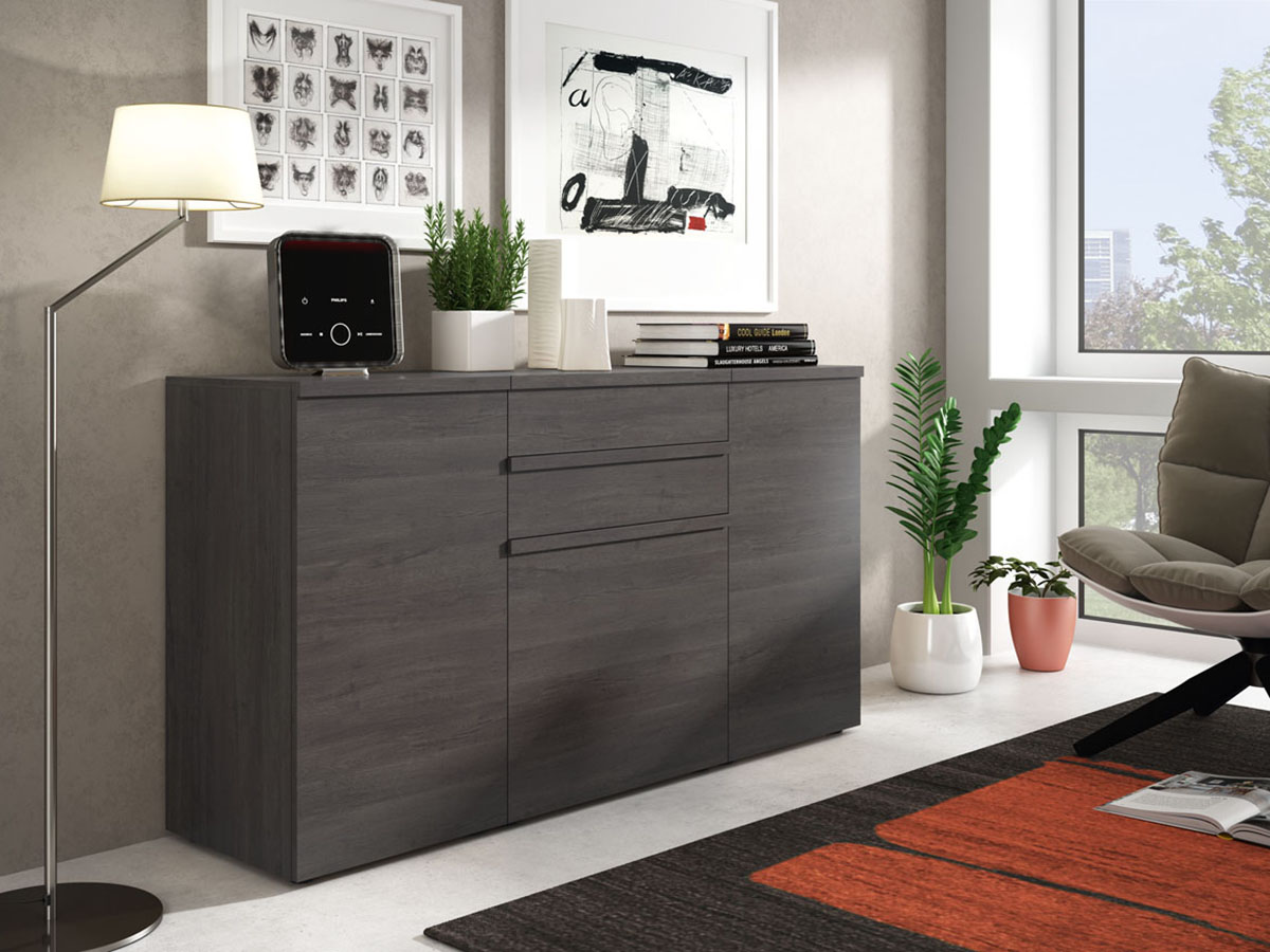 mueble-salon-aparador-comedor-madera-melamina-moderno ...