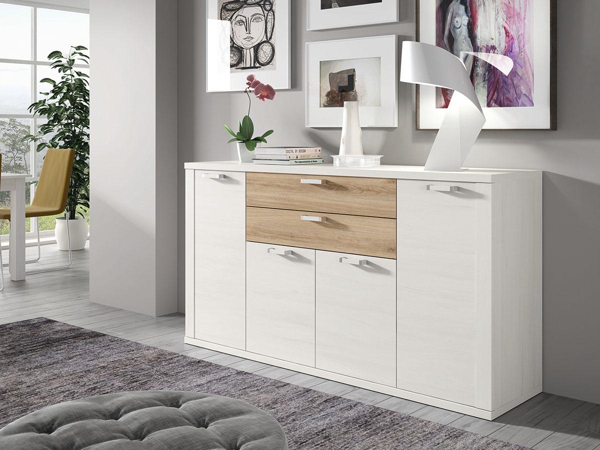 mueble-salon-comedor-aparador-madera-melamina-moderno-economico ...
