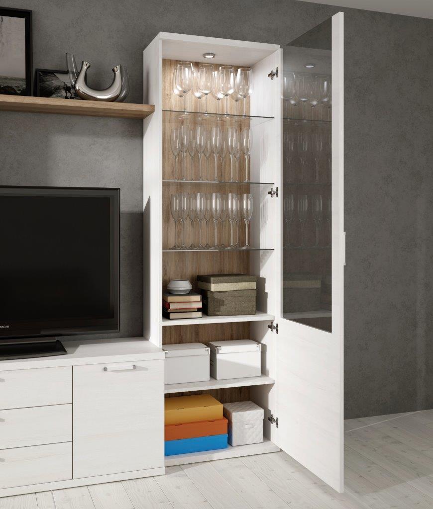 mueble-vitrina-comedor-madera-melamina-moderno-economico-polar ...